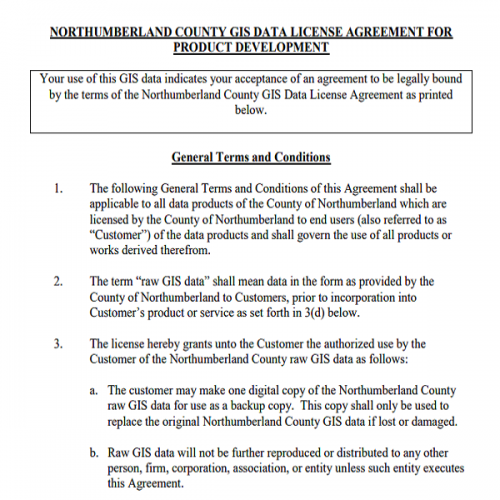 Data Licence Agreement