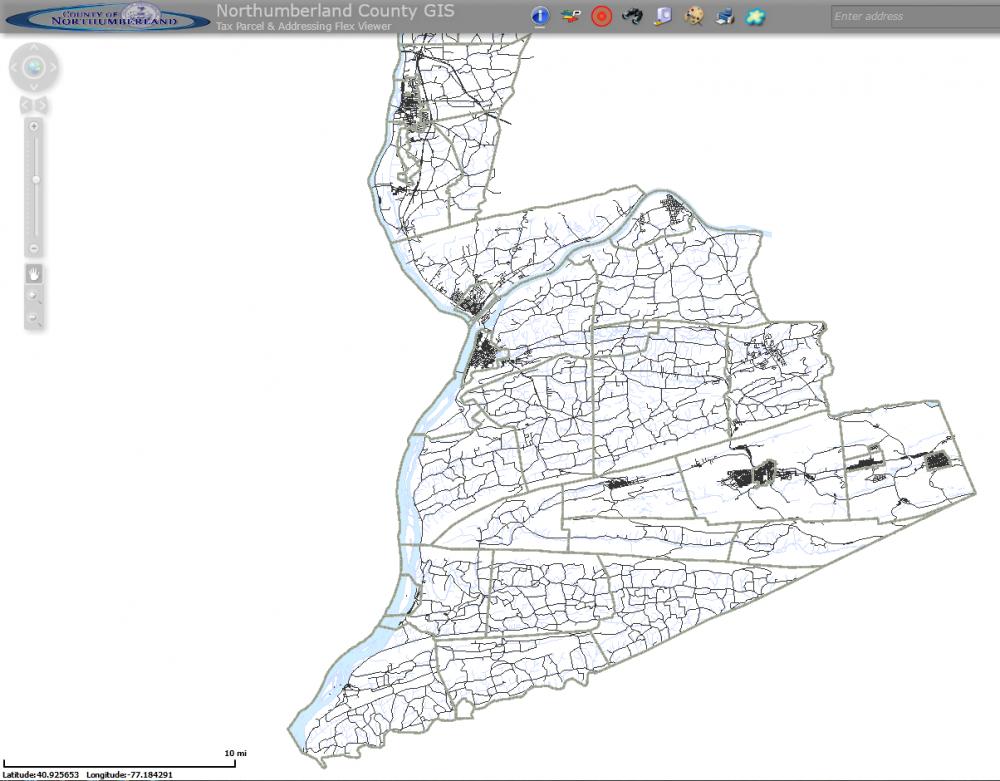 Northumberland County Base Map